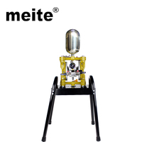 Meite high quality low maintenance painting air compressor pneumatic double diaphragm pump for static electricity proof paint