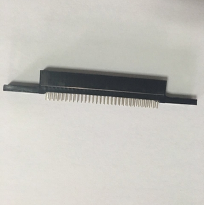 2.54mm Pitch 60 pin Edge Card Slot Connector with long lock