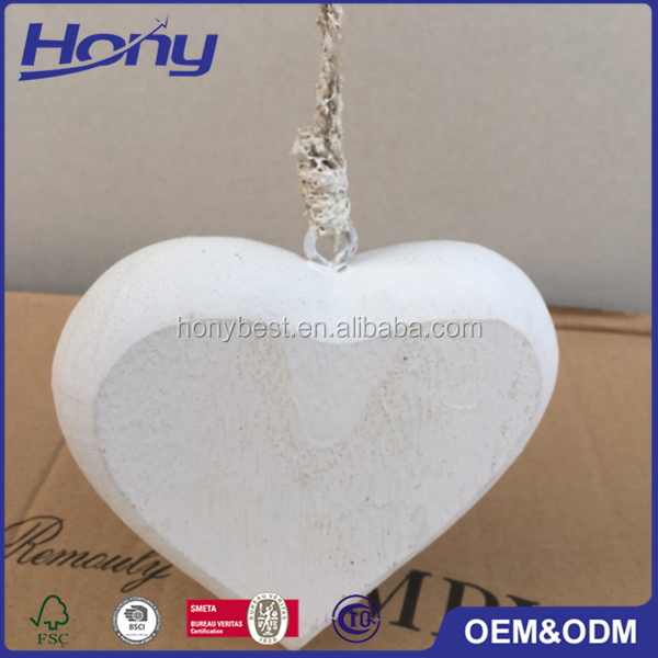 New custom lacquer different colors wood heart craft shape for Art minds wood crafts