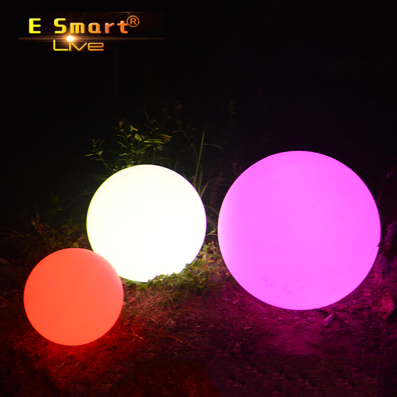 best factory prices ball light PE plastic led ball