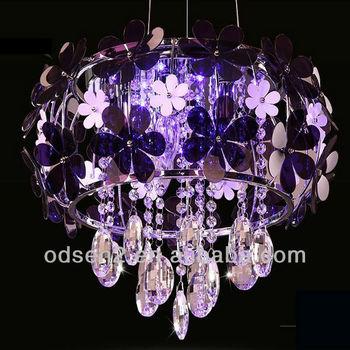 Pretty Home Pendant Crystal Flower Lighting