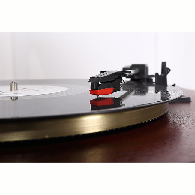 Old Fashion Vintage Lp Record Player Multifunctional