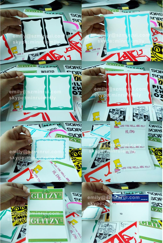 Custom Blanks Eggshell Vinyl Stickers Custom Designs Art Print - Graffiti custom vinyl stickers