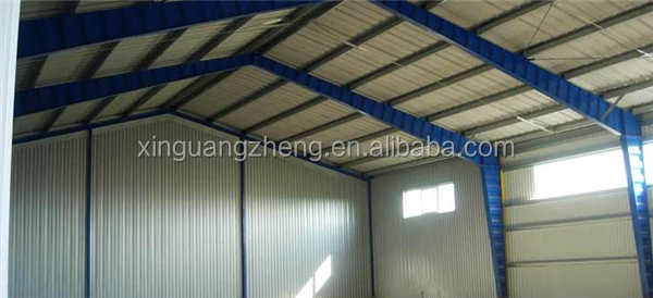 prefab engineering low cost corrugated sheet steel structure warehouse