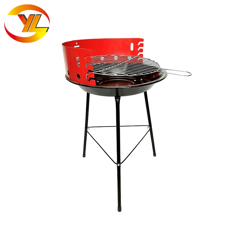14inch Simple Round BBQ Balcony Charcoal bbq grills outdoor