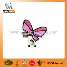 Beautiful butterfly shaped mini custom magnetic golf ball marker hat clip