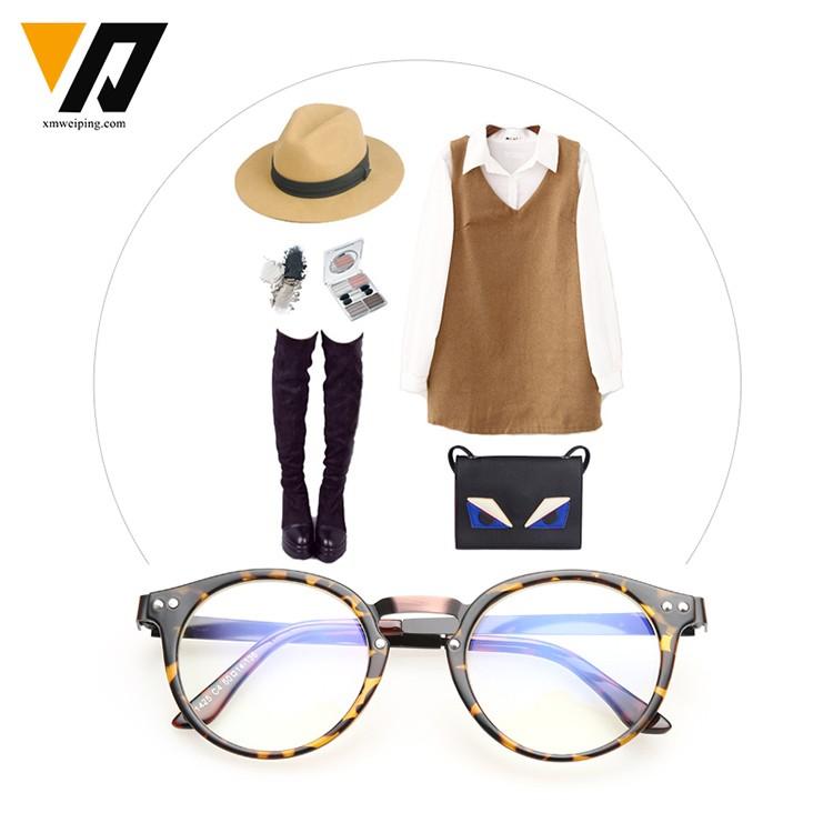 Newest Frame Eyeglass Case Fashion Folding Portable Leather Cheap ...
