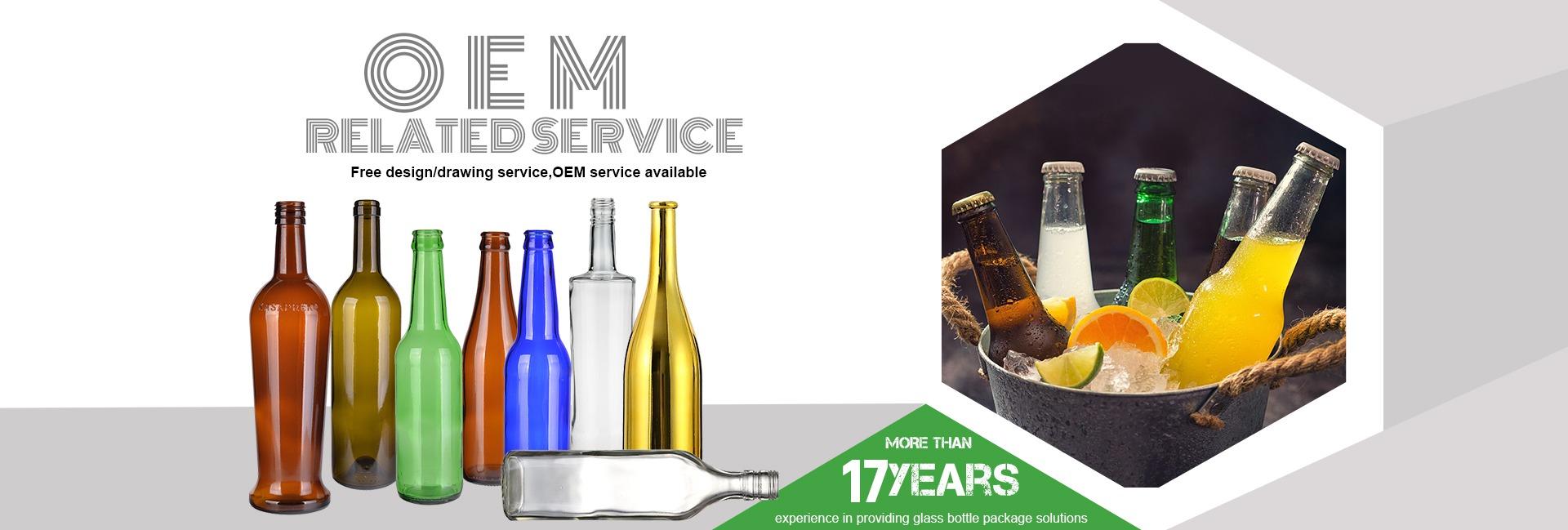 Xiamen UPC Imp  & Exp  Co , Ltd  - Glass Bottle