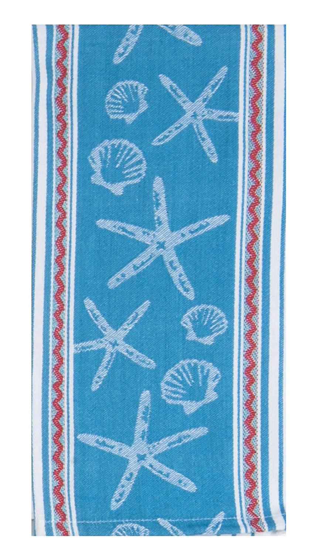 Kay Dee Designs Beach House Inspirations Shell Applique Tea Towel