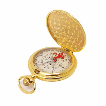 Army Compass Portable Brass Pocket Watch style compass Ring Keychain Multi Purpose Magnetic Compass for Outdoor Camping Hiking