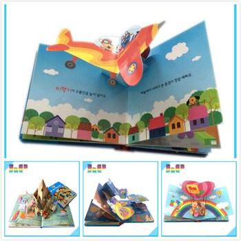 Popular Book Pop Up Book Children Learning Book Printing Buy Pop