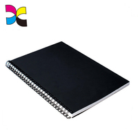 New 2018 design printed a4 spiral bound hard cover notebook with thick paper