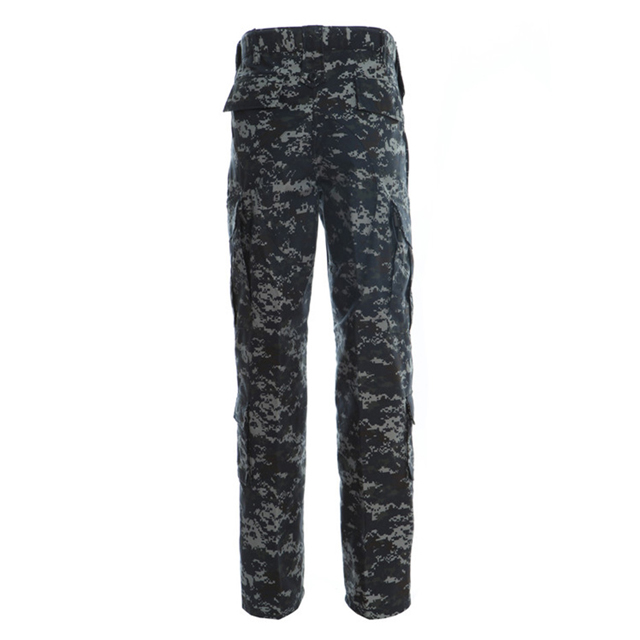Digital Ocean Camo Army  Suits Military Battle Dress Uniform Camouflage Jacket And Pants