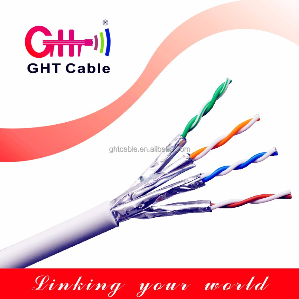 4 pair utp ftp Cat6 Cat6a network cables 305m from China