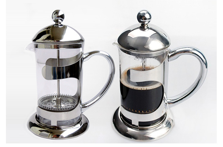 304 Stainless Steel Coffee French Press Maker Parts For