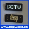 Programmable led badge name board led lighting
