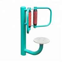 Hot Sale high senior outdoor fitness equipment systems hip twister outdoor fitness Back massage equipment