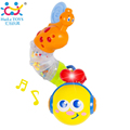 New Electronic Musical Insert Puzzle Kids Educational Toy Children Fingers Flexible Training Science Flashing Twisting Worm