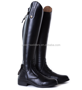 High quality leather horse riding boots