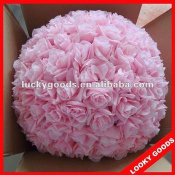60cm diameter big pink decorative flower balldecorative pink 60cm diameter big pink decorative flower balldecorative pink artificial flower ball mightylinksfo