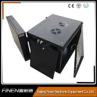 China 6U double section network cabinet wall mounted office cabinets