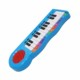 Custom plastic musical instrument piano keyboard toy for baby