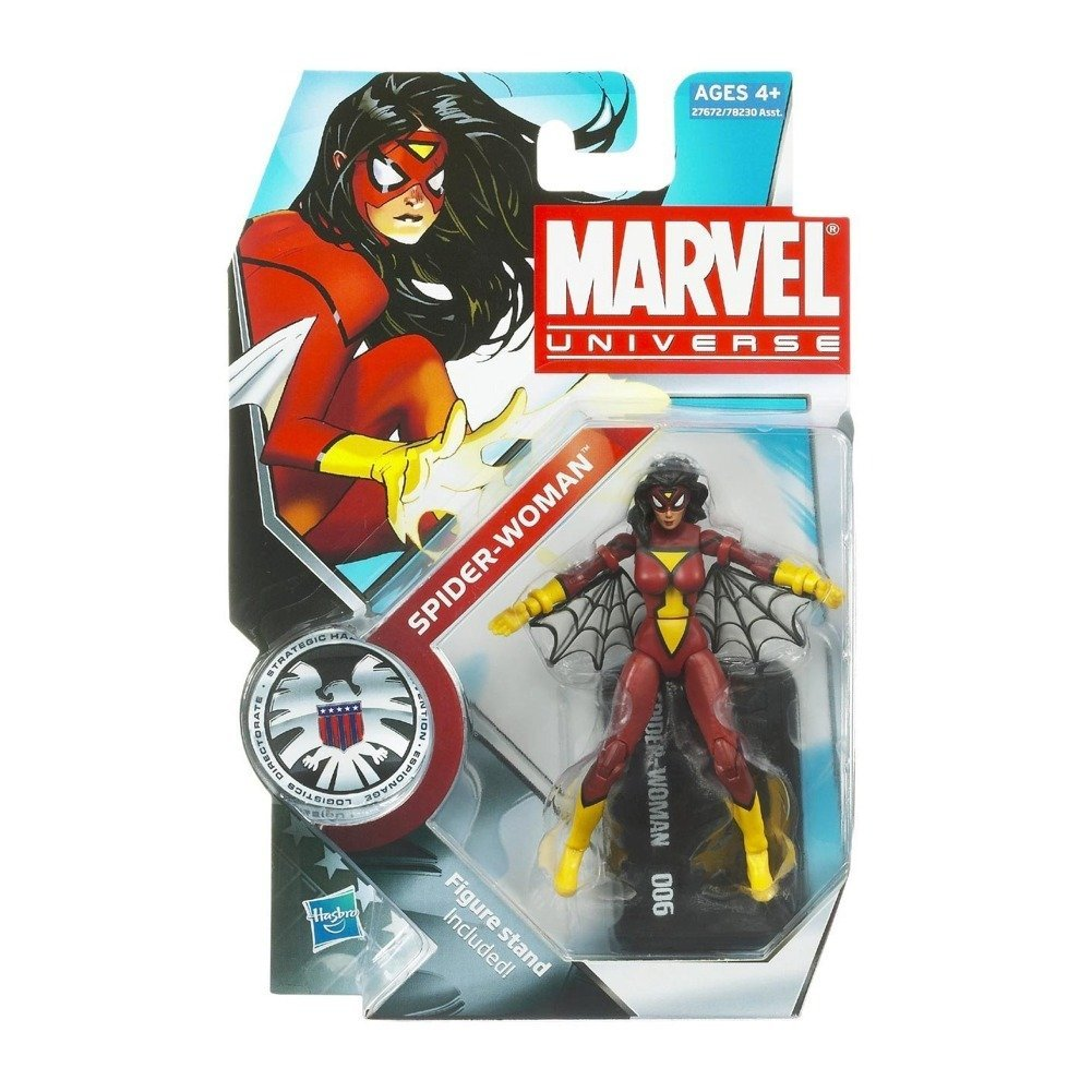Marvel Classic with Red Shirt Marvel Universe 3 3//4 Inch Series 3 Action Figure #23 Ms