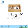 Advertising montessori wooden intellectual didactic math set