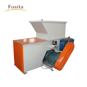 single shaft plastic shredding machine