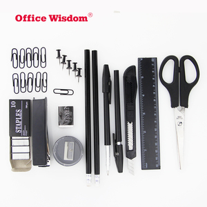 Cheap office stationery supplies 13 kinds of plastic office desk organizer holding stationery