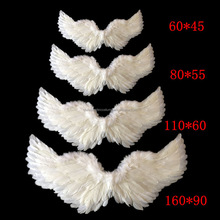 Adult Fairy Costume Angel Wings Night Party Fancy Dress Black/White