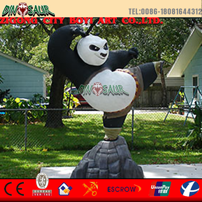 Movie Character real look simulation fiberglass animal statue