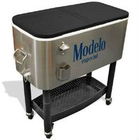 Outdoor beverage cart Wine cooler with rubber wheel