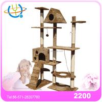 factory wholesale sisal cat posts / cat condo plans