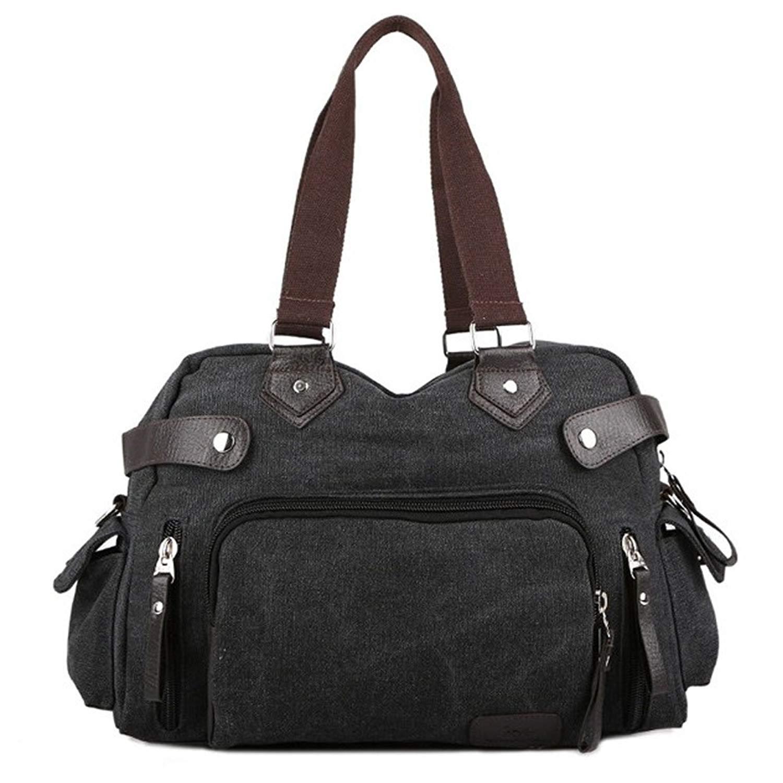e6ec706b8c9d Get Quotations · Canvas Duffel Bag for men women