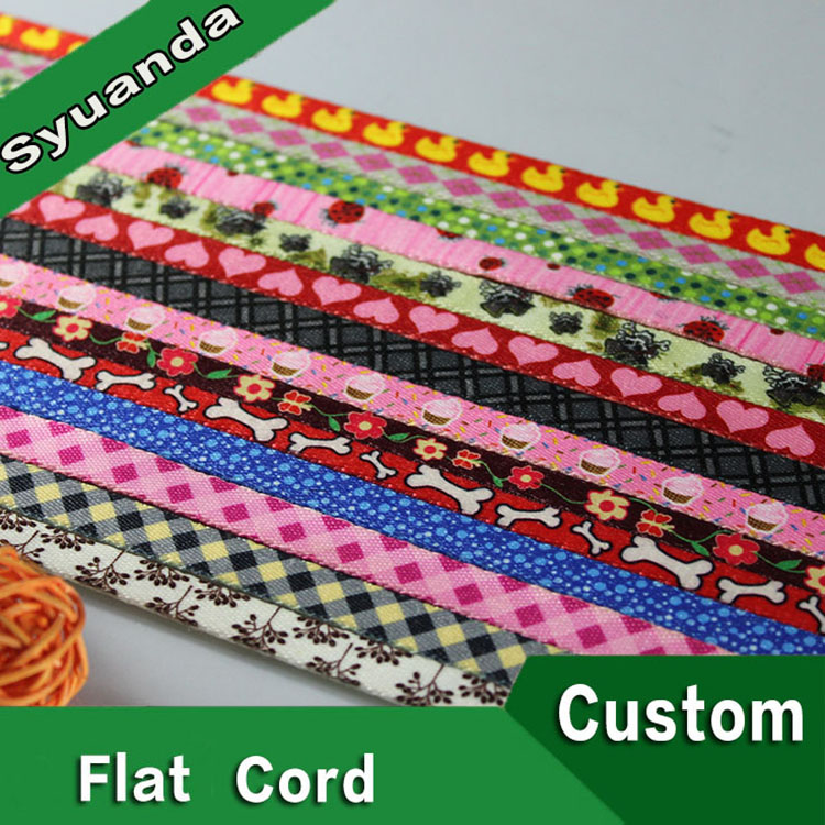 Top quality flat cotton macrame cord
