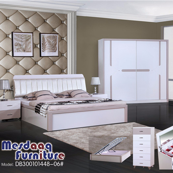 . Master King Luxury Contemporary Mdf Turkish Design White Bed Frame Double  Size Modern Furniture In Pakistan Beauty Bed For Sale   Buy Bed Double Bed