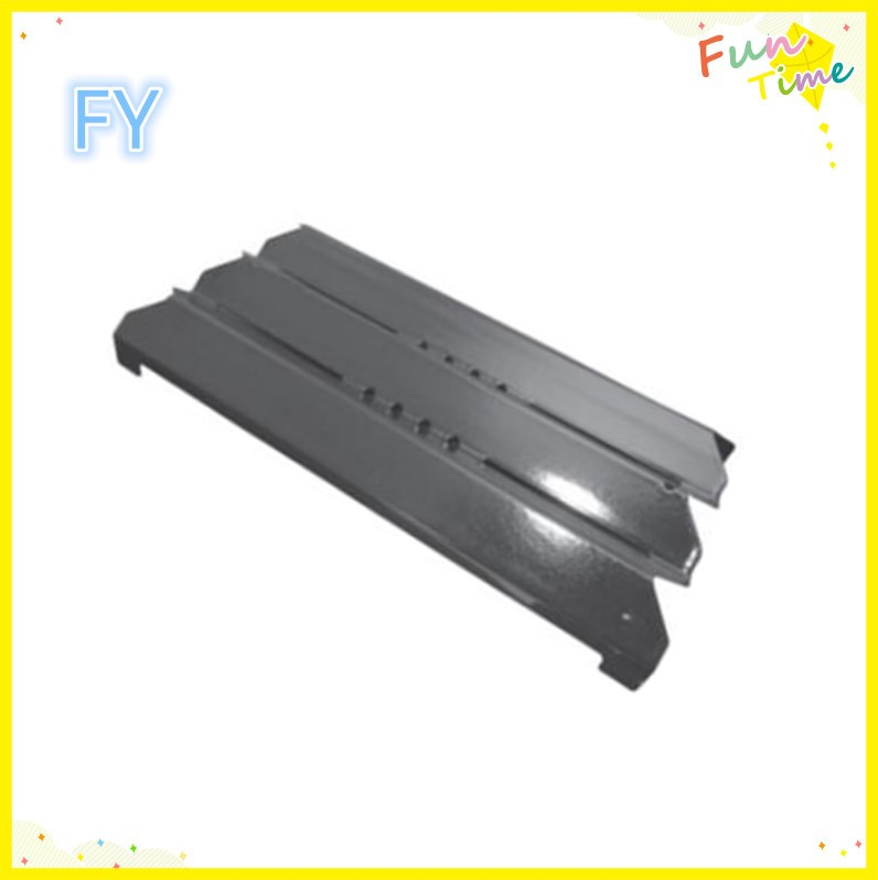 Universal Adjustable Porcelain Steel Replacement Heat Plate Flavorizer Bar Burner Cover