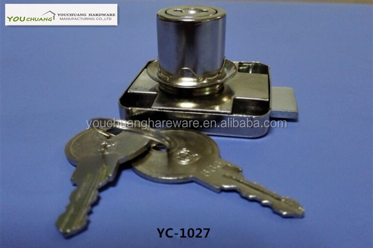 Cam Lock Mailbox Cabinet Drawer Lock With Cylinder Key Arcade Game Machine Parts