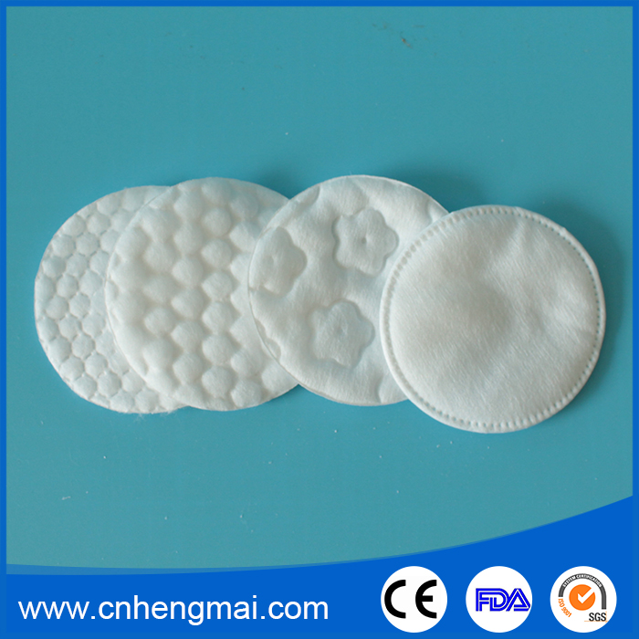 High Quality Organic Facial Skin Care Products Bulk Cotton Cosmetic Pads Manufacturers