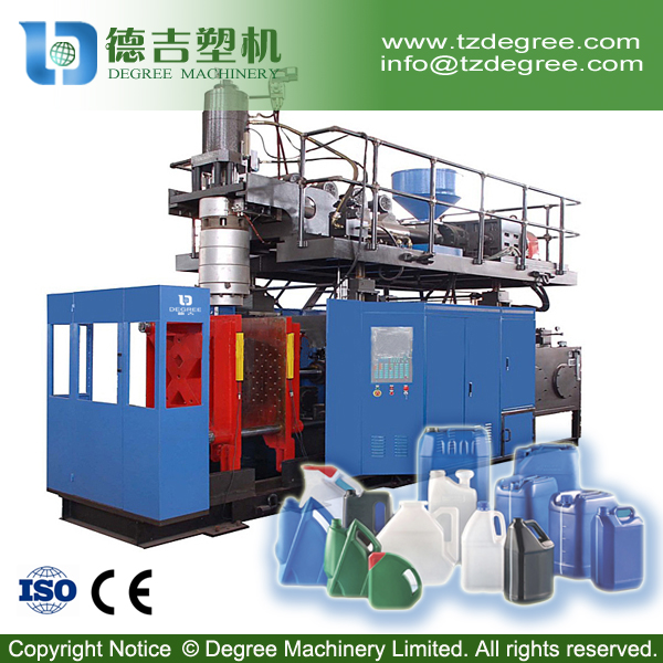Single cavity HDPE barrel 30 liter plastic extrusion blow molding machine