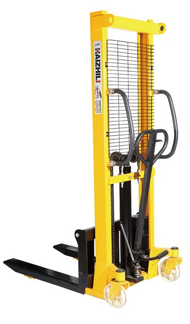 Vestil vws-770-aa manual winch pallet stacker for sale.