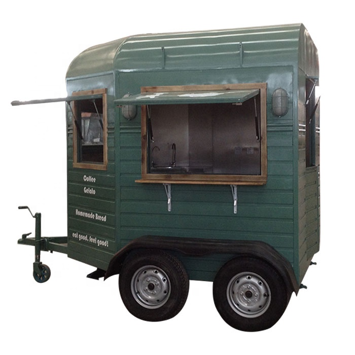 factory price mobile cartering food cart  food trailer for sale