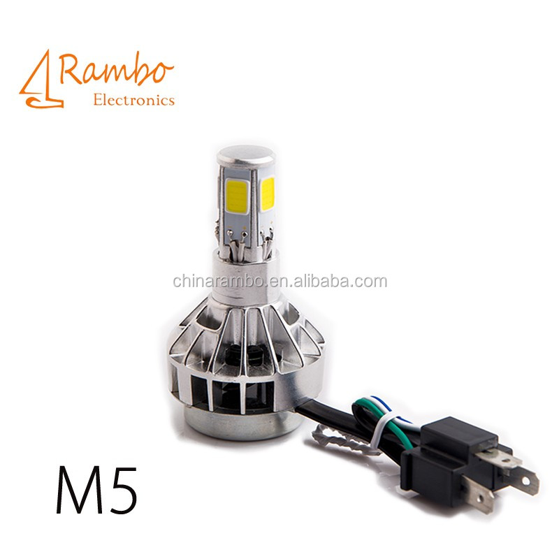 led car xenon hid bicycle light led High with speed fan inside
