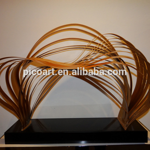 Modern abstract wire mesh art and crafts metal sculpture home decor