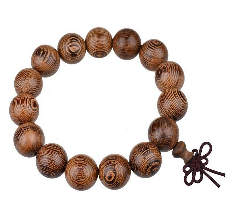 Best selling wood 12mm muslim bracelet prayer beads