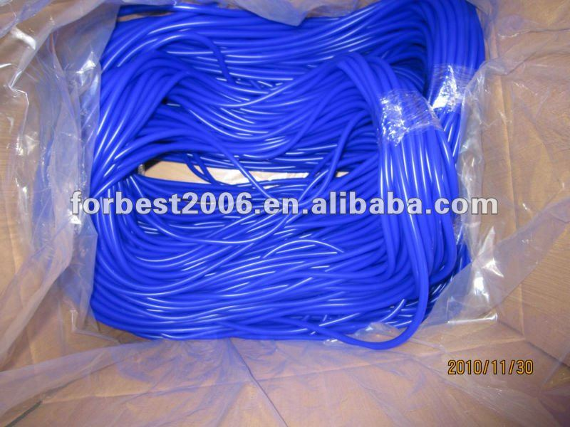 Silicone rubber extrusion tube with color