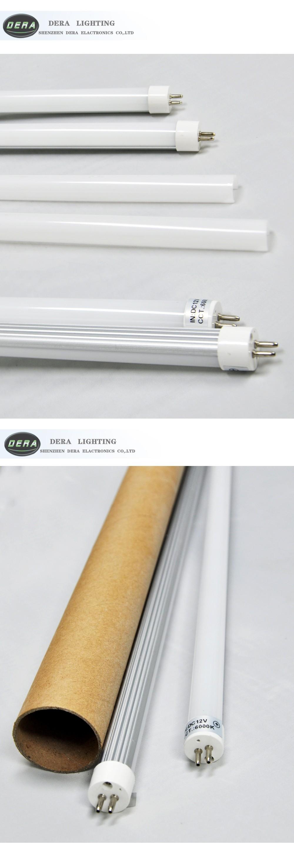 High Lumen Dc12v 8w 530mm Flexible Led Light Tube T5 Led Tubes ...