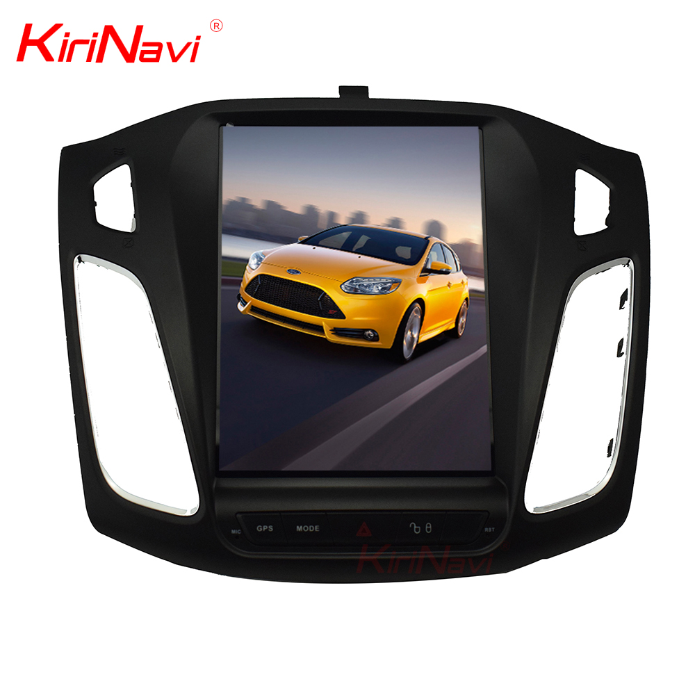 Kirinavi WC-FF1015 10.4 inch Vertical screen android 6.0 car dvd player for Ford for Focus 2012 - 2015 car navigation 2G 32G
