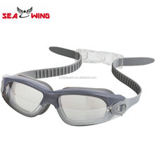 2018 Custom Logo Mirrored Optical Prescription Swimming Goggles